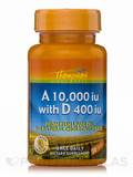 Vitamin A 10,000 IU with D 400 IU from Fish Liver Oil 30 Softgels