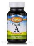 Vitamin A 25,000 IU with Pectin 100 Soft Gels