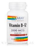 Vitamin B-12 2000 mcg, Cherry - 90 Sublingual Lozenges