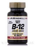 Vitamin B-12 3000 mcg - 60 Tablets