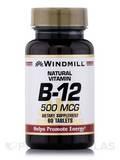 Vitamin B-12 500 mcg 60 Tablets