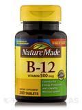 Vitamin B-12 500 mcg 200 Tablets