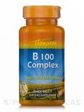Vitamin B 100 Complex (Timed-Release Formula) 30 Tablets