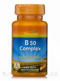 Vitamin B 50 Complex (Balanced Formula) - 30 Capsules