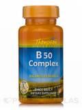 Vitamin B 50 Complex (Balanced Formula) 60 Capsules
