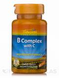 Vitamin B Complex with Vitamin C (High Potency Formula) - 60 Tablets