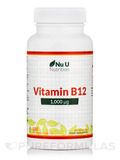Vitamin B12 1,000 ug - 180 Vegetarian Tablets
