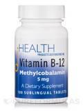 Vitamin B12 Methylcobalamin 5 mg - 100 Sublingual Tablets