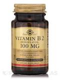 Vitamin B2 (Riboflavin) 100 mg - 100 Vegetable Capsules