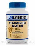 Vitamin B3 Niacin 1000 mg 100 Capsules