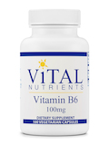 Vitamin B6 100 mg - 100 Vegetarian Capsules