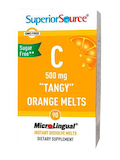 Vitamin C 500 mg, Tangy Orange Melts - 90 MicroLingual® Tablets