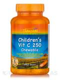 Children's Vitamin C 250 Chewable (Yummy Fruit Punch Flavor Plus Bioflavonoids) - 90 Chewables