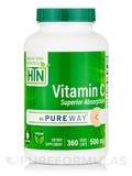 Vitamin-C as PureWay-C® 500 mg - 360 VegeCaps