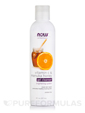 NOW® Solutions - Vitamin C & Manuka Honey Gel Cleanser - 8 fl. oz (237 ml)