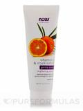 NOW® Solutions - Vitamin C & Oryza Sativa Gentle Scrub - 4 fl. oz (118 ml)