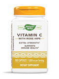 Vitamin C-1000 with Rose Hips - 100 Capsules