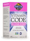 Vitamin Code® - 50 & Wiser Women's Multi - 240 Vegetarian Capsules