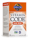 Vitamin Code® - Raw Iron - 30 Vegetarian Capsules
