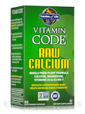 Vitamin Code® - RAW Calcium - 60 Vegetarian Capsules