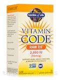 Vitamin Code® - Raw D3™ 2000 IU - 120 Vegetarian Capsules