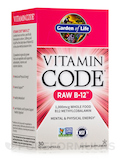 Vitamin Code® - Raw Vitamin B12 - 30 Vegan Capsules