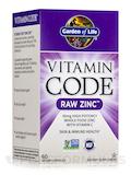 Vitamin Code® - RAW Zinc - 60 Vegan Capsules
