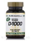 Vitamin D 1000 IU - 100 Tablets