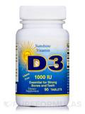 Vitamin D 1000 IU 90 Tablets