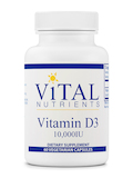 Vitamin D3 10,000 IU - 60 Vegetable Capsules