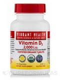 Vitamin D3 2000 IU 100 Organitabs