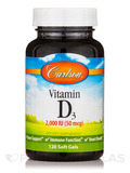 Vitamin D3 2,000 IU - 120 Soft Gels