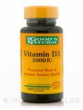 Vitamin D3 2000 I.U. 100 Softgels