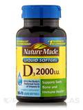 Vitamin D 2000 IU Value Size 250 Softgels