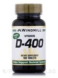 Vitamin D 400 IU - 100 Tablets