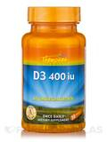 Vitamin D3 400 IU (as Cholecalciferol) 30 Tablets