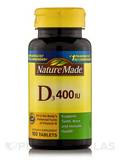 Vitamin D3 400 IU - 100 Tablets