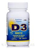 Vitamin D 5000 IU 60 Tablets