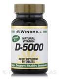 Vitamin D 5000 IU 60 Tablets