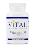 Vitamin D3 5,000 IU - 90 Vegetable Capsules