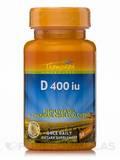 Vitamin D 400 IU (Fish Liver Oil D-3 Natural Cholecalciferol) 30 Softgels
