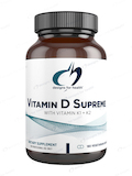 Vitamin D Supreme with Vitamin K1 and K2 - 180 Vegetarian Capsules