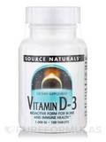 Vitamin D-3 1000 IU - 100 Tablets