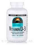 Vitamin D-3 1000 IU - 360 Capsules
