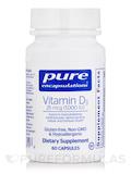 Vitamin D3 1,000 IU 60 Capsules