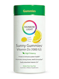 Vitamin D3 1000 IU Sunny Gummies™ (Lemon Flavor) - 50 Gummies