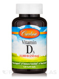 Vitamin D3 10,000 IU - 120 Soft Gels