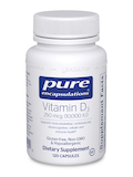 Vitamin D3 10,000 IU 120 Capsules