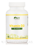 Vitamin D3 10,000 IU - 365 Softgel Capsules
