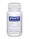 Vitamin D3 10,000 IU - 60 Capsules